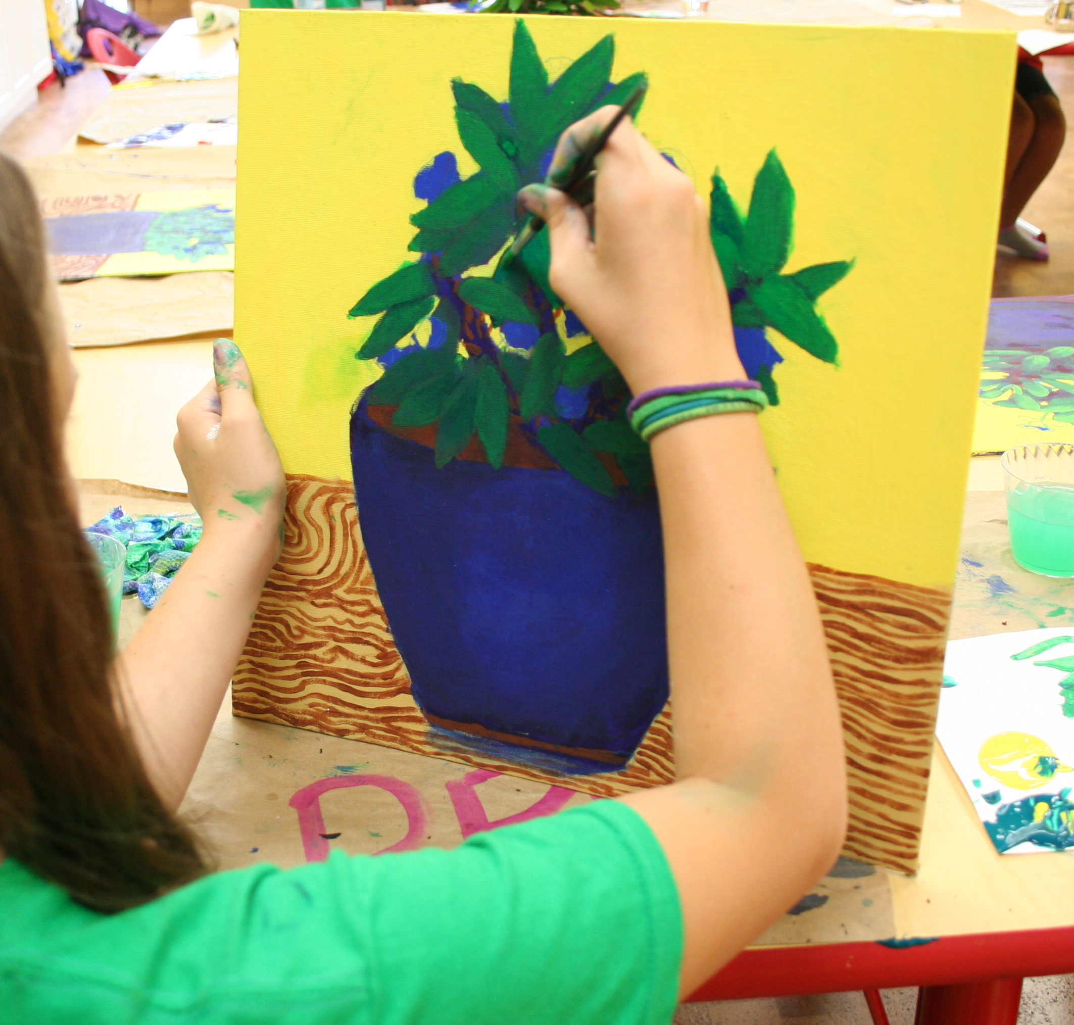 kids painting studio - Kids Painting Images