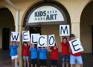 Kids Need More Art in Stuart welcomes you!