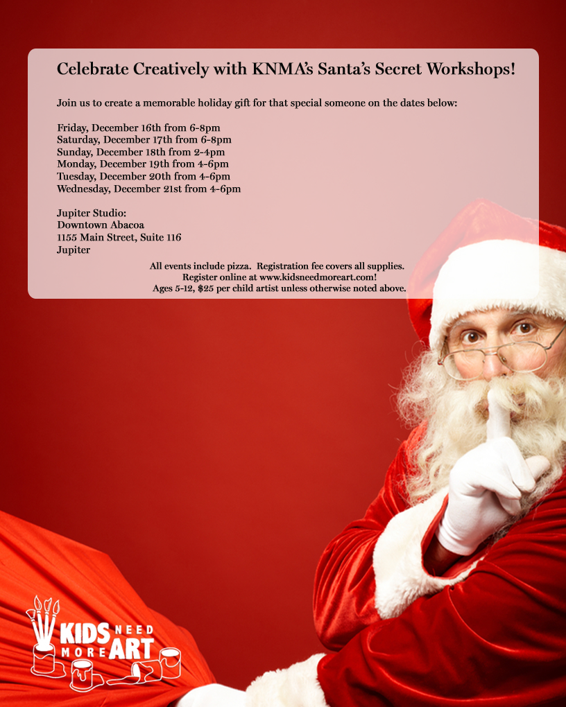 Santa Workshop Flyer